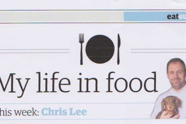 "East Anglian Daily Times – ""My Life in Food"" –28th June 2017"