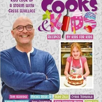 Cooks & Kids 3 – cookbook for sale from reception!  Get Chef to sign for a perfect present