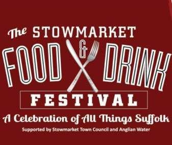 Chris Lee at the very first Stowmarket Food & Drink Festival – Sunday 1st July